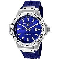 Swiss Legend Maverick 40052-03 46mm Stainless Steel Case Blue Rubber Sapphire Crystal Men's Watch