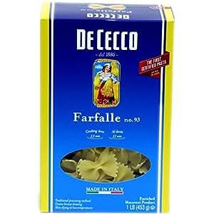 Farfalle # 93 16 Ounces (Case of 20)
