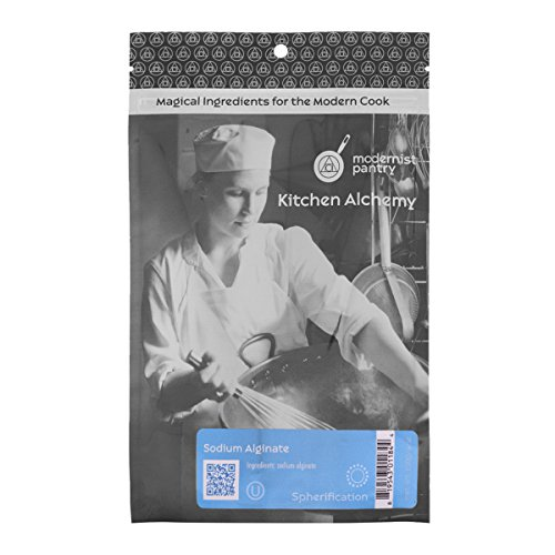 Food Grade Sodium Alginate (Molecular Gastronomy)  Non-GMO  Vegan  OU Kosher Certified- 100g/4oz