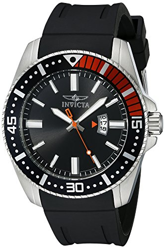 Invicta Men's 21392 Pro Diver Analog Display Quartz Black Watch