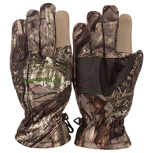 Huntworth Youth Classic Hunting Glove, Hidden, Large