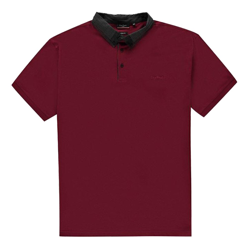Pierre Cardin Hombre XL Camisa Polo Burgundy XL Largo: Amazon.es ...