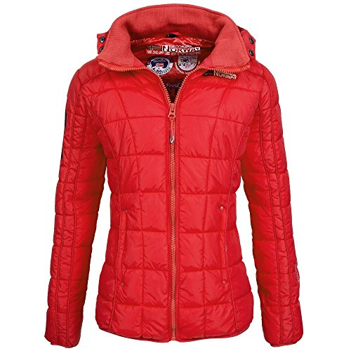 Doudoune Femme Norway taille Rouge Berechite Geographical 4 q8wE5UxwR