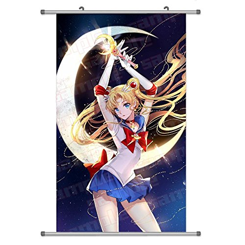 Sailor Senshi (A Wide Variety of Bishoujo Senshi Sailor Moon Anime Characters Wall Scroll Hanging Decor (Tsukino Usagi 6))