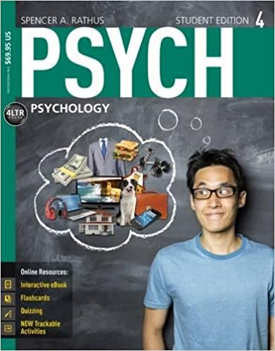 Amazon psych 9781305091924 spencer a rathus books psych 4th edition fandeluxe Gallery