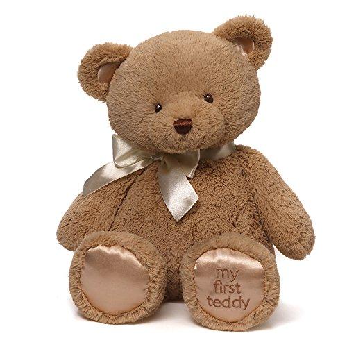 Gund My First Teddy Bear Baby Stuffed Animal, 18 inches