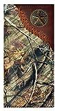 Custom 3D Belt Company Gold Star Long Checkbook Realtree AP Camo Wallet