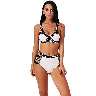 Conjuntos de lencería para Mujer, BBestseller Mujer Sexy Ropa De Dormir Bra Ropa Interior Pijamas Push Up Sujetadores y Tangas: Amazon.es: Ropa y accesorios