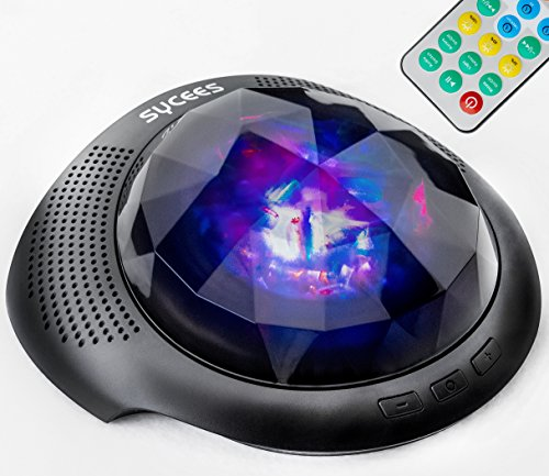 Sycees Night Light Star Projector & Bluetooth Sound Machine