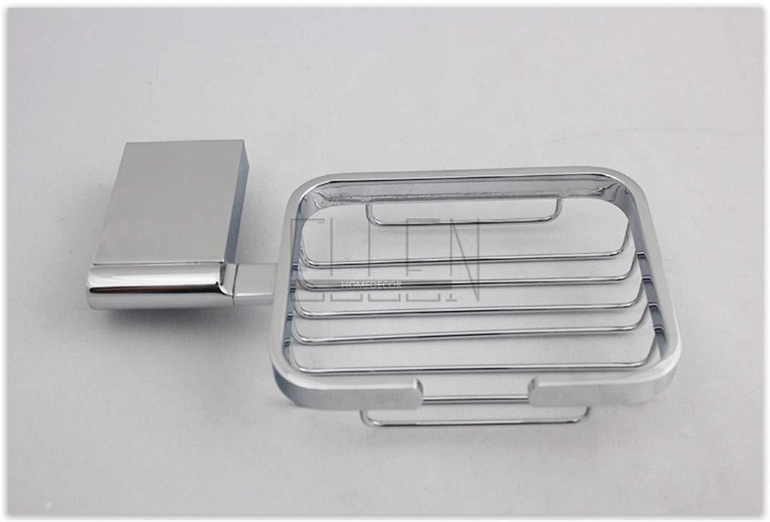 Silver Grey Gray Ceramic Soap Dish Tray Holder Vintage Classic Color 162 Retro