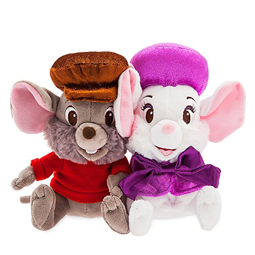 Disney Miss Bianca and Bernard Plush Set - The Rescuers - Small ()