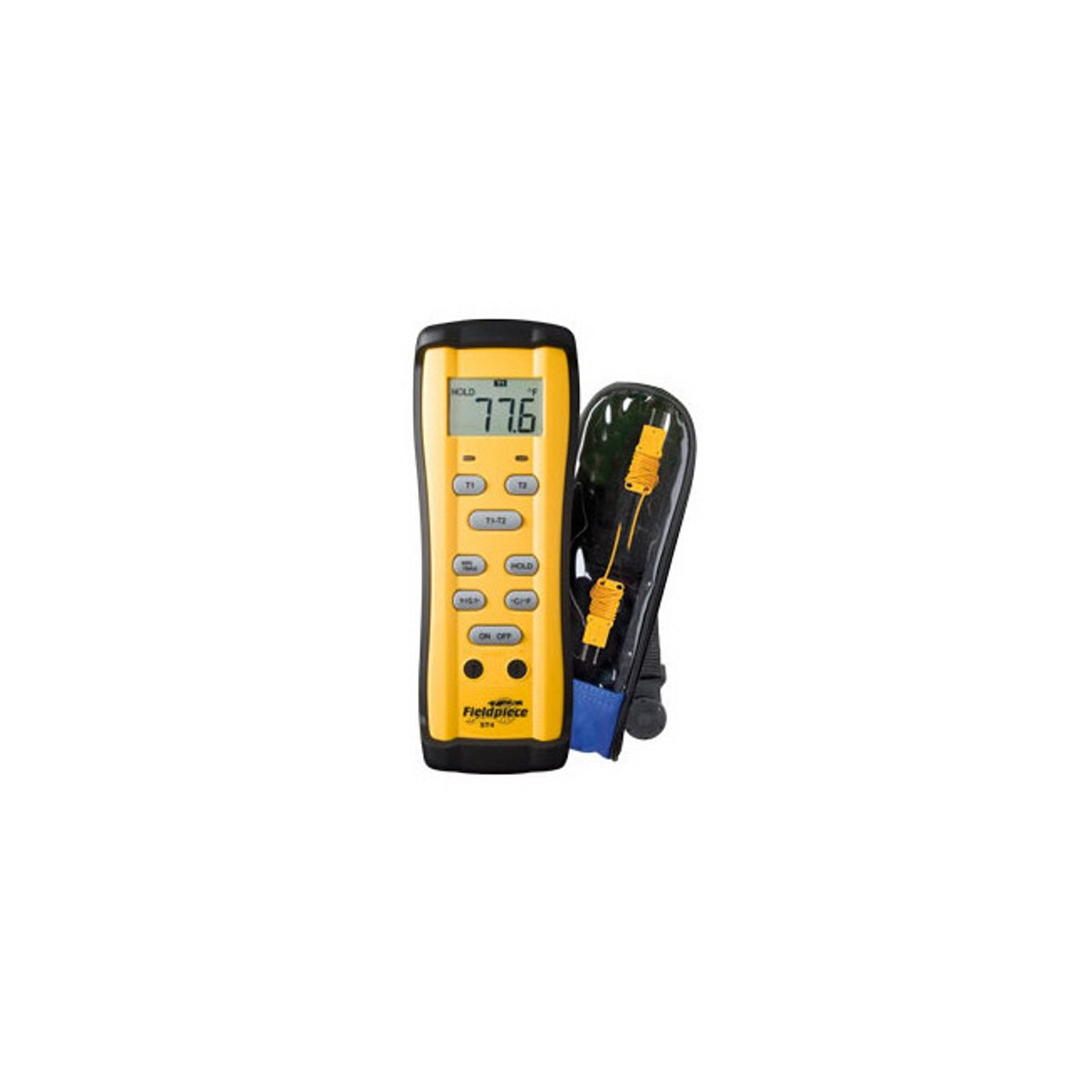 Fieldpiece ST4 Dual Temperature Meter, -58 to 2000F(-50 to 1300C) by Fieldpiece