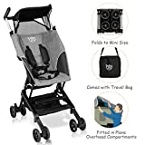 BABY JOY Pocket Stroller, Extra Lightweight Compact Folding Stroller, Aluminum Structure, Five-Point Harness
