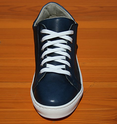 Basse con Sneakers JoyShop Pella Scarpe Italy AD Vera Moda in Fantasia Made Donna Incisione Blu Laser Full in BwwCIq7