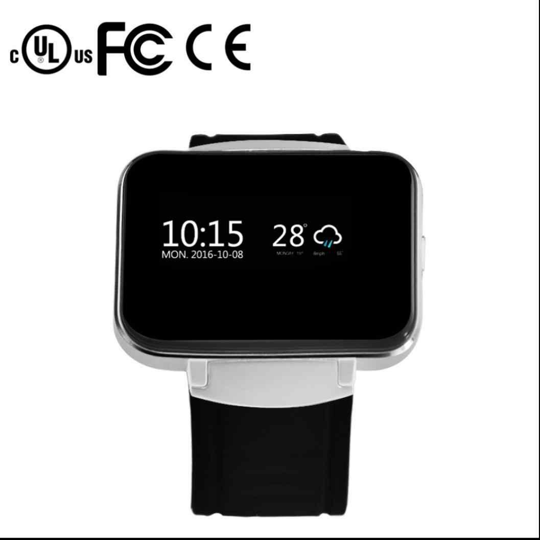 Sport Smart Uhr Watch Fitness Smart Uhr Armband Sleep Monitor Langlebig Schrittzähler Metallgehäuse Heart Rate Monitor Smart uhr Luxus Elegant kompatibel mit amsung Android Geräte usw