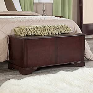 amazon com hope chest bench entry storage vintage trunk 10314 | 51nsq28lf5l sy300 ql70