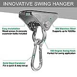 Yes4All Wood Beam Heavy Bag Hanger/Heavy Duty Swing