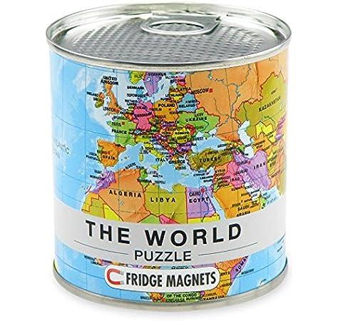 Extra Goods- Puzzle Magnético Mapa Mundo, Multicolor, 33 x 23 cm (Mapiberia 771547): Amazon.es: Juguetes y juegos