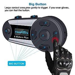 Motorrad Gegensprechanlage Headset (2 Stück)