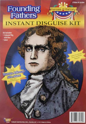 [Forum Thomas Jefferson Instant Disguise Kit] (Women In History Costumes)