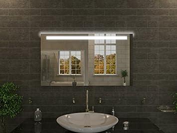 Specchio con illuminazione cairo m l design specchio per bagno