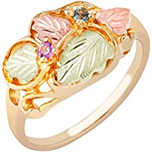Black Hills Gold Mother's Ring - 4 stones - G911