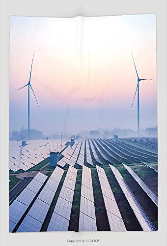 Custom Throw Blanket Before Sunrise Solar Power Plants 505418119 and Comfortable by vanfan