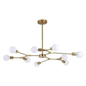 Leohome Lámparas de techo modernas 9- Lámparas de luz ...