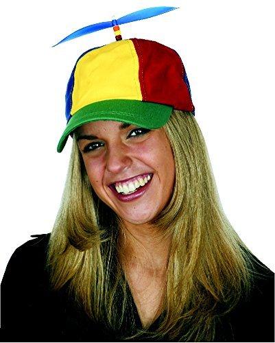 Jacobson Hat Company Men's Multi-Color Propeller Cap, Multi,