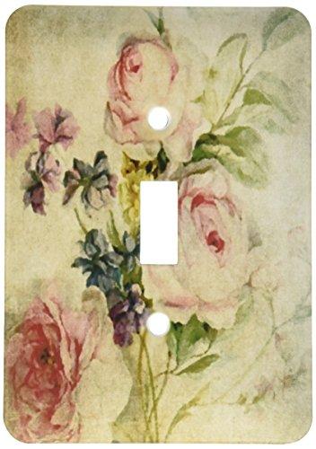 3dRose lsp 173503 1 Vintage Florals Angelandspot