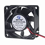 60 x 60 cooling fan - Gdstime DC 12V Brushless Cooling Fan 60mm 6cm 60x60x25mm 2 Wire