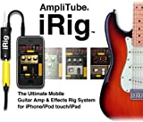 AmpliTube iRig IK Multimedia AmpliTube iRig Guitar Plug Interface Adapter iPad iPhone iPod