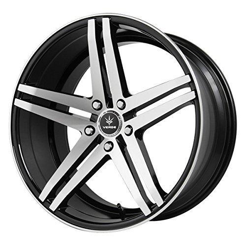Verde Custom Wheels Paralla Gloss Black/Machined Wheel (2011''/5120mm  +40mm Offset) Dub Custom Wheels