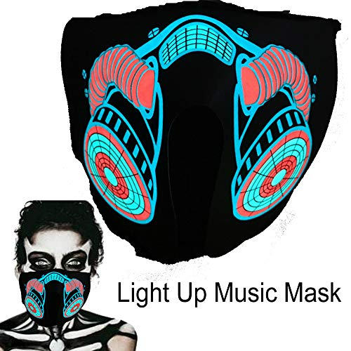 Led Light Up Mask in US - 9