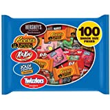 Hershey's Halloween Snack Size Assortment, 100-Count Bag