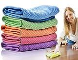 Dish Rags Dish Cloths Kitchen Washcloths-5 Pieces 5