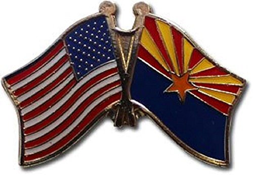 - ALBATROS USA American State of Arizona Flag Bike Motorcycle Hat Cap Lapel Pin for Home and Parades, Official Party, All Weather Indoors Outdoors
