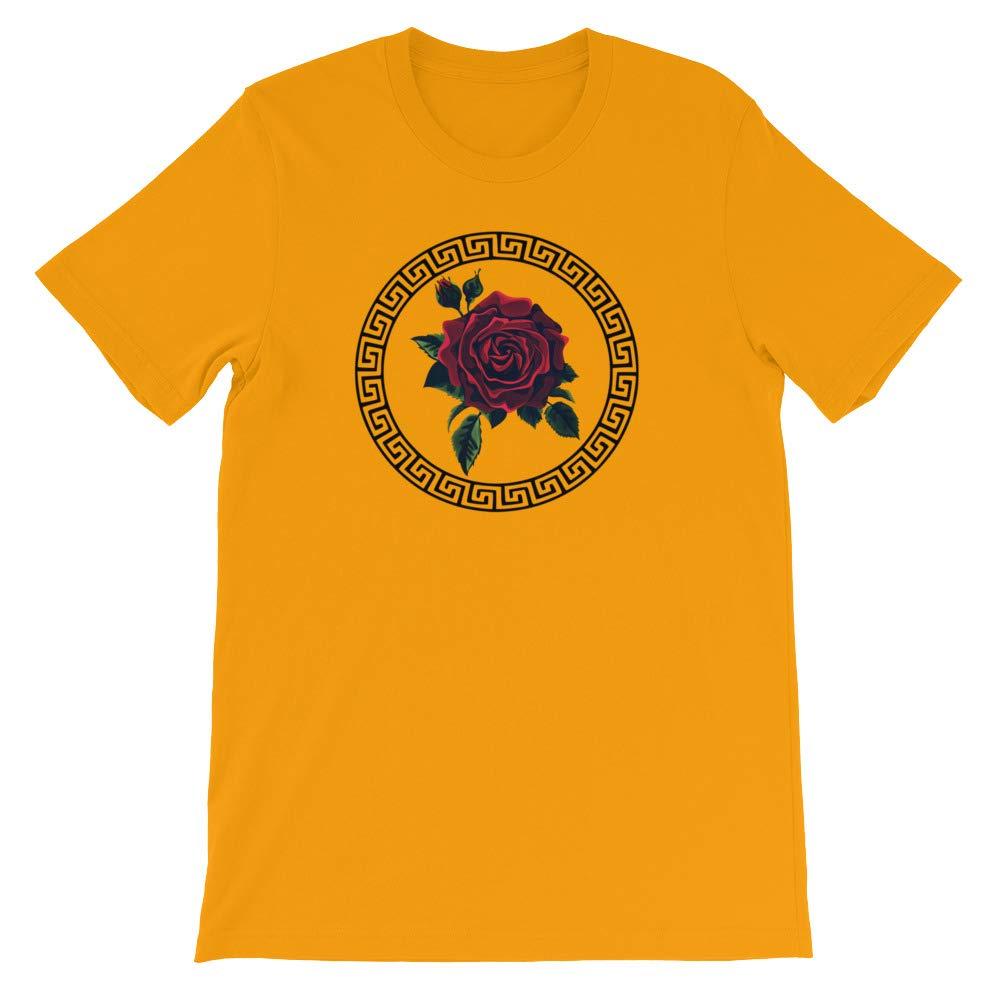 n0mamesdud Rose Ring Short-Sleeve Unisex T-Shirt