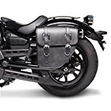 vn 900 saddlebags - Saddlebag Kawasaki VN 900 Custom Texas Black left