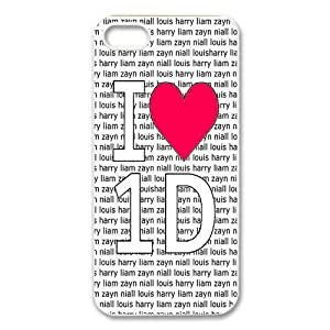 1D One Direction Quotes iPhone Case for iphone 5/5s, Well-designed TPU iphone 5s Case, iphone accessories