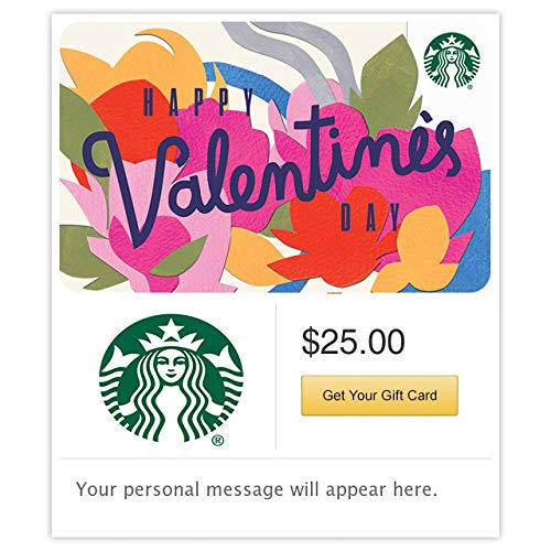 Starbucks Valentines Day Gift Card -E-mail Delivery link image