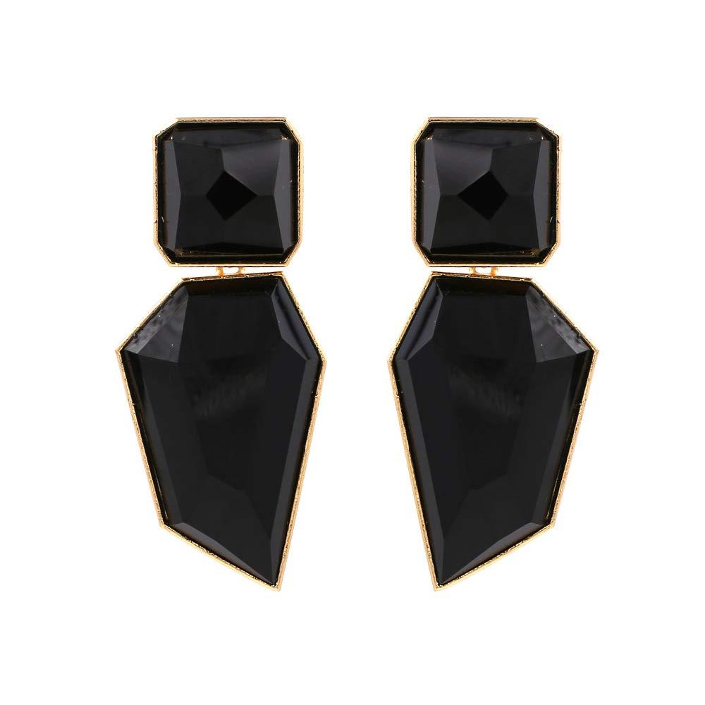 Acrylic Geometric Statement Drop Earrings Dangle Earrings