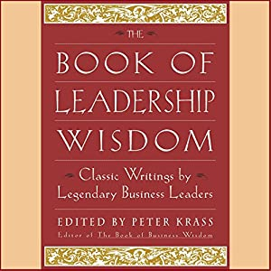 The Book of Leadership Wisdom Hörbuch