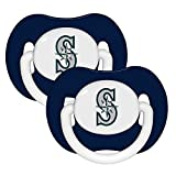 Baby Fanatic Pacifier (2 Pack) - Seattle Mariners