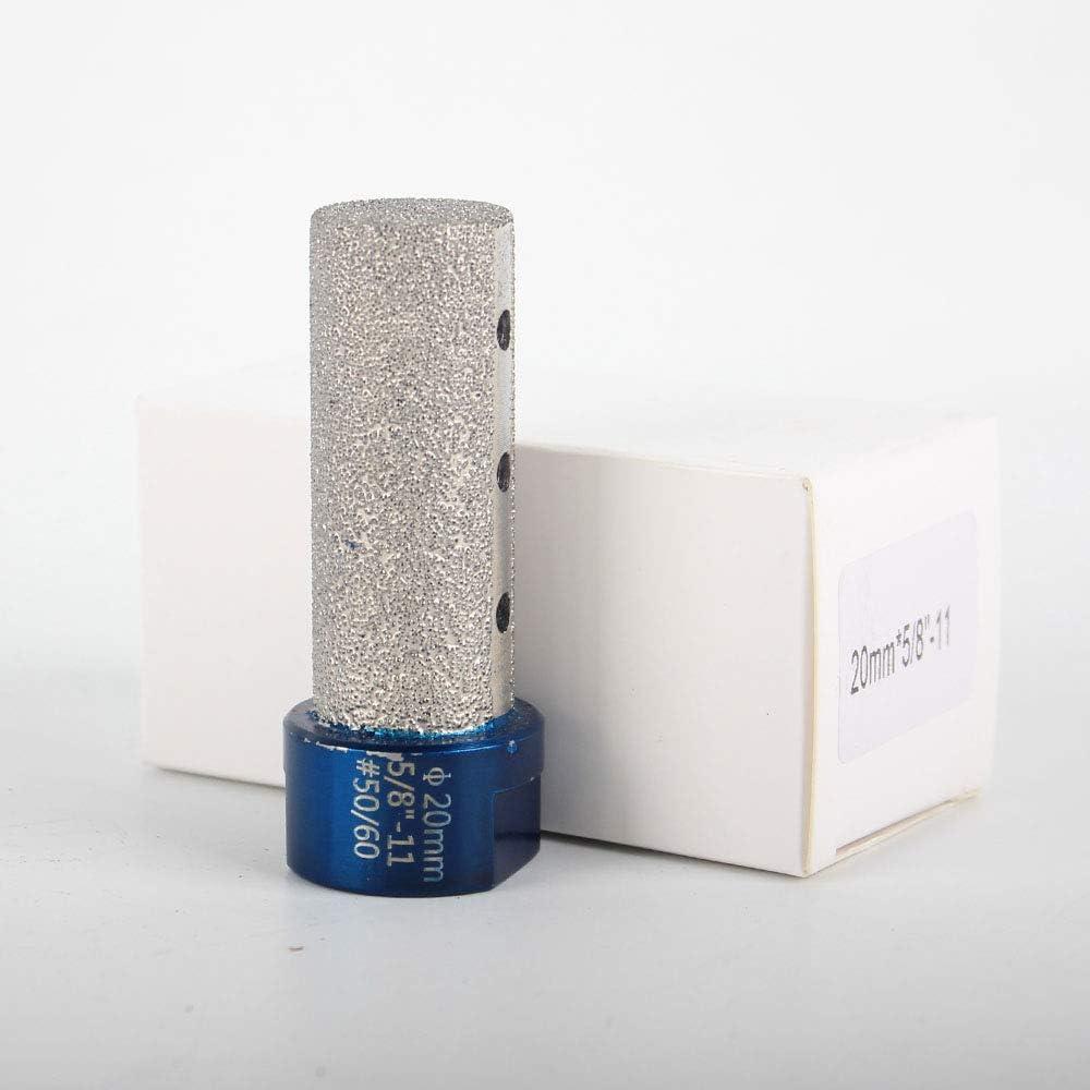 Raizi Diamond Finger Milling Bits For Enlarging Shaping Holes On Porcelain Tile Marble Granite Milling Tools 2 Pcs 5//8 Inch 15mm