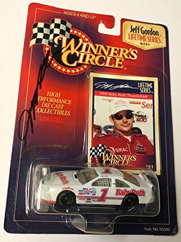 1997 Winners Circle Jeff Gordon Baby Ruth Candy Signed 1/64 Diecast Car - Autographed Diecast Cars ()