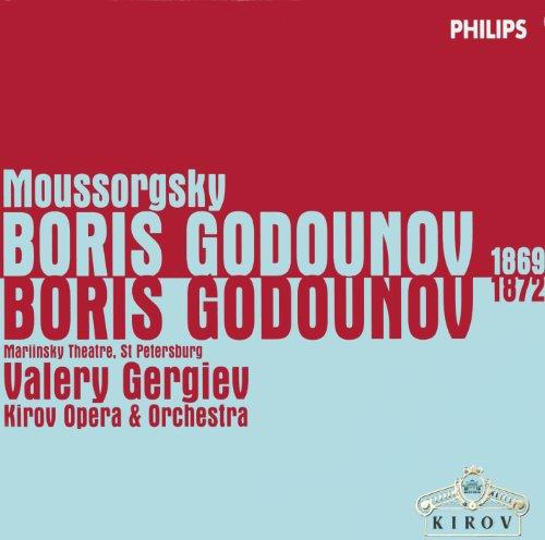 Moussorgsky: Boris Godunov (1869 & 1872 Versions) (5 CDs) (Philips Philips Cd)