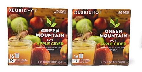 Apple Mountain (Green Mountain K-Cup Pods Hot Apple Cider - 16 count (Pack of 2))