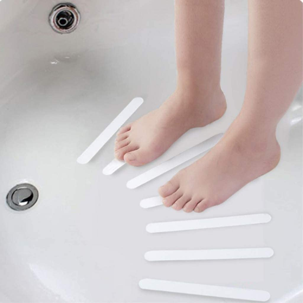 Rutschschutz Treppe Transparent /& Selbstklebend Antirutschband 95sCloud 15x Anti-Rutsch-Sticker Antirutschstreifen f/ür Dusche /& Badewanne Anti Rutsch Streifen Aufkleber f/ür Treppenstufen