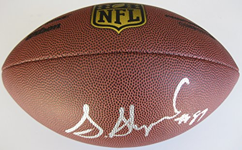 Sterling Shepard, New York Giants, Oklahoma, signed, Autographed, NFL Duke Football, a COA with the Proof Photo of Sterling Signing Will Be Included